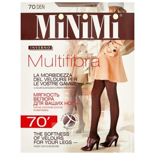 Колготки MiNiMi Multifibra 70 den, размер 5-XL, daino (бежевый) колготки minimi la sfera 20 den размер 5 xl daino бежевый