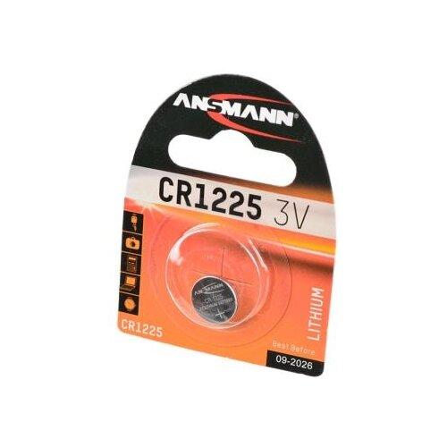 Батарейка ANSMANN CR1225 1 шт блистер батарейка ansmann cr2025 1 шт блистер