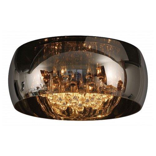 lucide mamba 09400 23 12 22 5 вт Светильник Lucide Pearl 70163/05/11, G9, 20 Вт, кол-во ламп: 5 шт., цвет арматуры: хром, цвет плафона: черный