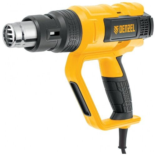Строительный фен Denzel HG-2000M 2000 Вт фен технический hammer hg 2000 le