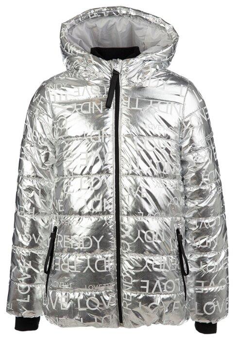 Купить Куртка playToday 32021200 размер 134, серый/серебристый металлик по низкой цене с доставкой из Яндекс.Маркета (бывший Беру)