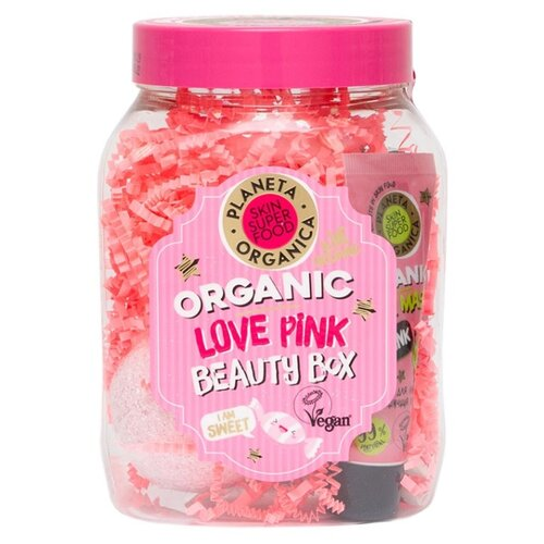 Набор Planeta Organica Love Pink planeta organica turkish conditioner