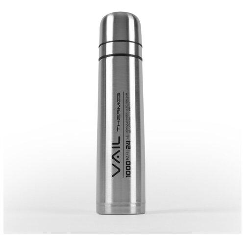 Термос VAIL VL-7020 узкое горло 1,0 л. две кружки