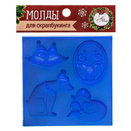 Купить Арт Узор Молды для творчества Сказочные персонажи (2331120) синий, Инструменты и аксессуары