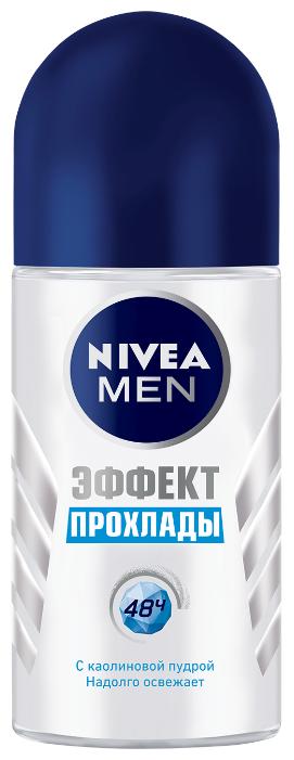 Антиперспирант ролик Nivea Men Эффект прохлады