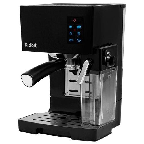 Кофеварка рожковая Kitfort КТ-743, черный