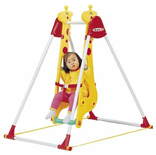 """Haenim Toy Качели """"Жираф"""" для одного ребенка (DS-707)"""