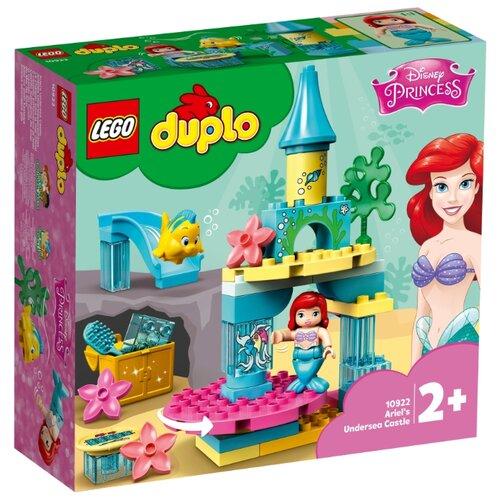 Фото - Конструктор LEGO DUPLO 10922 Подводный замок Ариэль конструктор lego duplo моя первая минни 10897