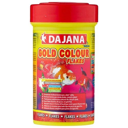 Сухой корм для рыб Dajana Pet Gold Colour Flakes 100 мл 20 г цена 2017
