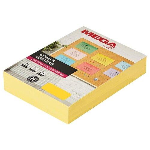 Фото - Бумага ProMEGA А4 Intensive 80г/м² 500 лист. желтый 1 шт. бумага iq color а4 color 120 г м2 250 лист оранжевый or43 1 шт