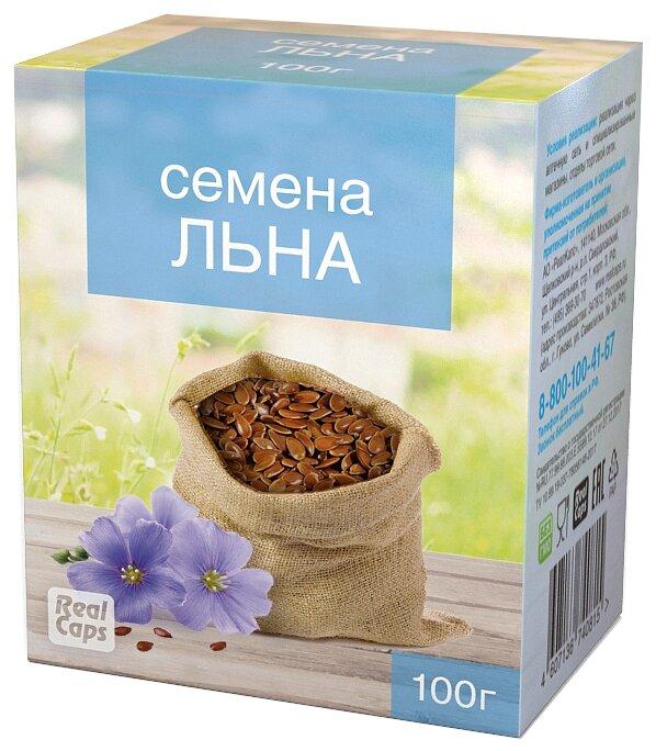 Семена льна RealCaps посевной (обыкновенный) 100 г