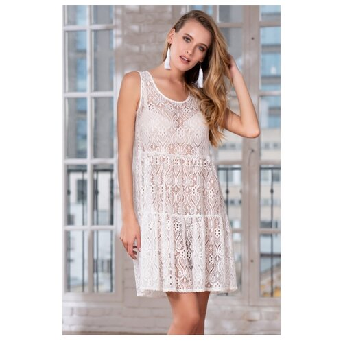 Пляжная туника MIA-AMORE Santa-Maria 8284 размер XS белый платье mia amore lilia размер xs белый