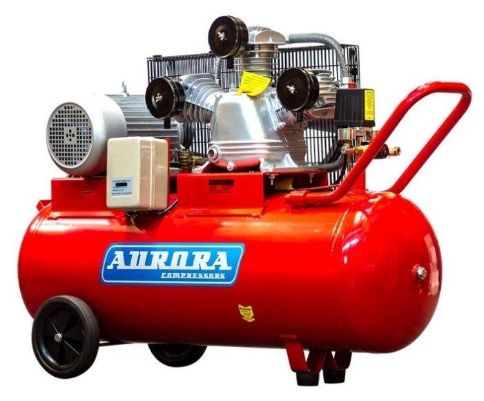 Компрессор масляный Aurora Tornado-105, 105 л, 3 кВт