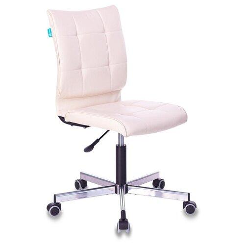 Компьютерное кресло Бюрократ CH-330M офисное, обивка: искусственная кожа, цвет: светло-бежевый компьютерное кресло tetchair барон обивка искусственная кожа цвет бежевый