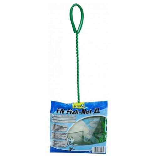 Фото - Сачок для аквариума Tetra FN XL 15 см 1 шт. зеленый сачок прудовый для сбора водорослей без ручки tetra pond algae net head 1 шт