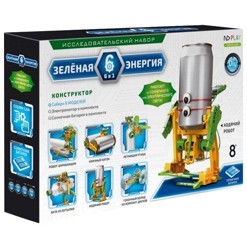 Электромеханический конструктор ND Play На солнечной энергии 265609 Зеленая энергия 6 в 1 электромеханический конструктор nd play на солнечной энергии 277377 капитан ромео