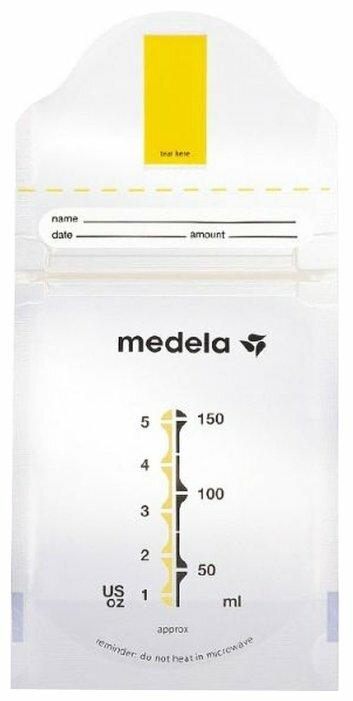 Medela Пакеты для хранения грудного молока Pump & Save 150 мл