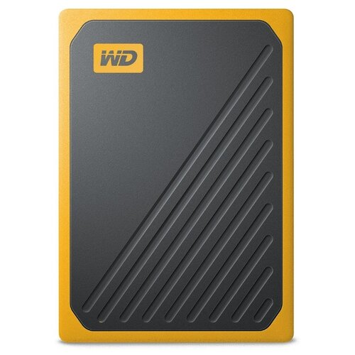 Фото - Внешний SSD Western Digital My Passport Go 500 ГБ amber western digital wdblhr0020bbl eeue my passport 2 5 синий