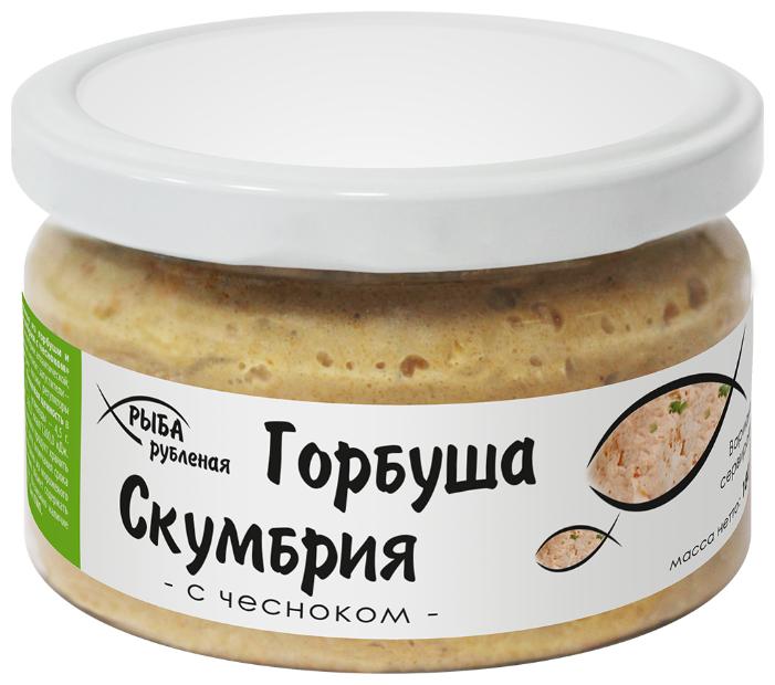Европром Рыба рубленая Горбуша-Скумбрия с чесноком