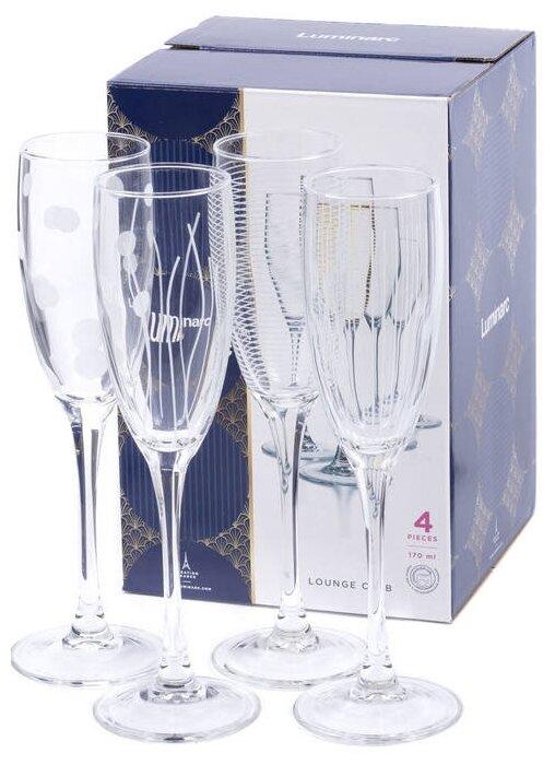 Luminarc Набор фужеров для шампанского Lounge Club