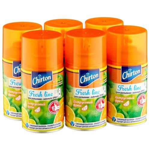 Chirton аэрозоль Fresh line Цитрусовый фреш, 250 мл 6 шт. нож строительный neo 63 702