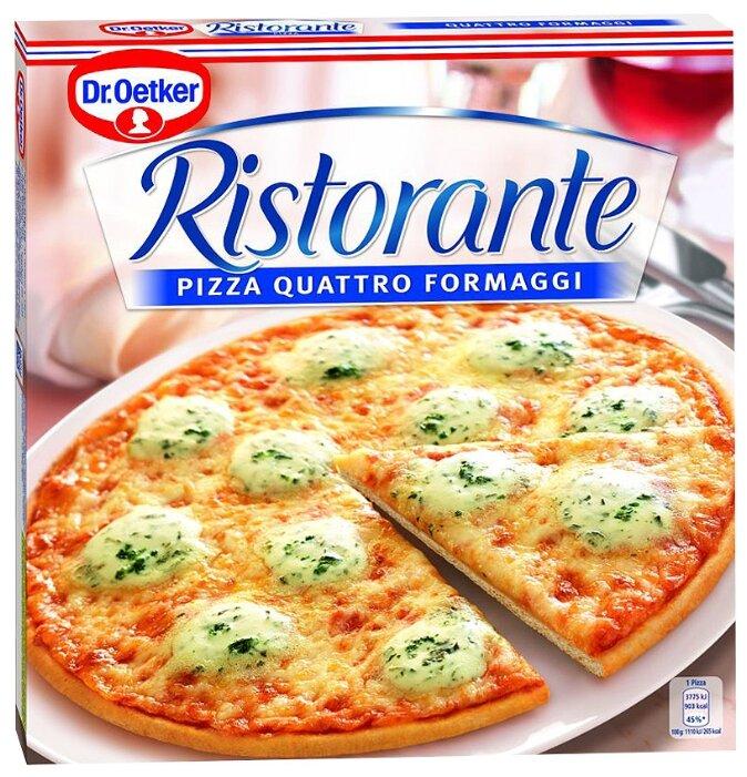 Dr. Oetker Замороженная пицца Ristorante 4 сыра 340 г