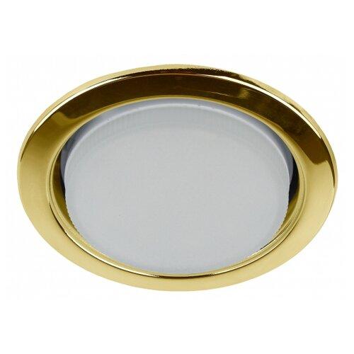 ЭРА KL35 GD-10 Золото Светильник под лампу Gx53,220V,13W (упаковка 10 шт)