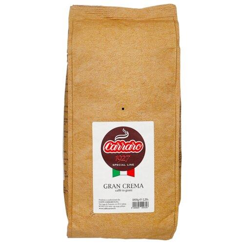 Кофе в зернах Carraro Gran Crema, арабика, 1 кг кофе в зернах caffe carraro crema italiano 1 кг