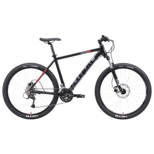 цена на Горный (MTB) велосипед STARK Armer 27.6 HD (2019) черный/серый/красный 18 (требует финальной сборки)