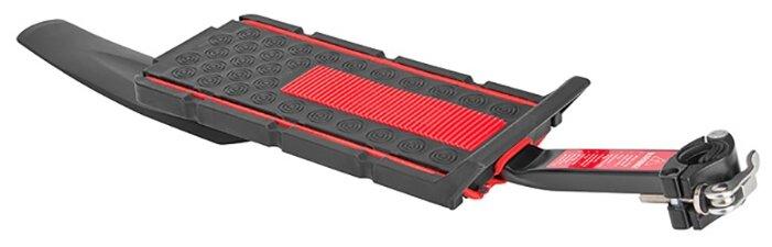 """Задний багажник на велосипед STELS BLF-H22 консольный 20-28"""" черно-красный"""