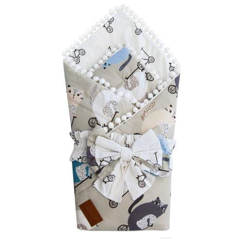 Фото - Одеяло на выписку AmaroBaby Bon Bon Велосипедисты конверты на выписку amarobaby одеяло на выписку bon bon индейцы