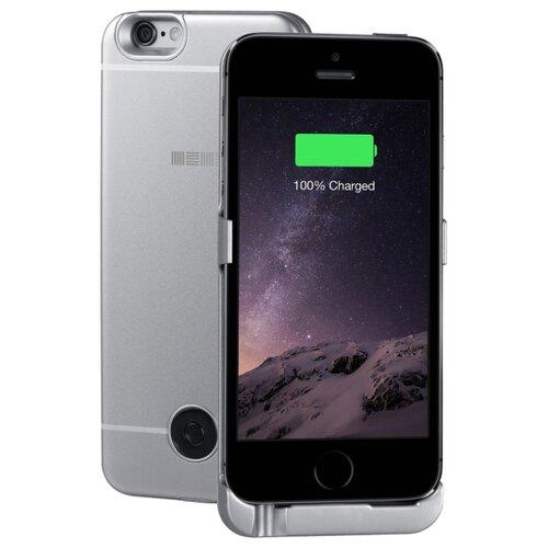 Купить Чехол-аккумулятор INTERSTEP Metal battery case для iPhone 5/5S/SE space gray
