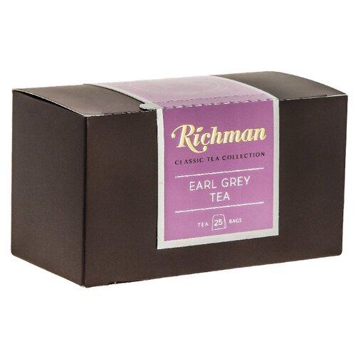 Чай черный Richman Earl grey в пакетиках , 25 шт. фото