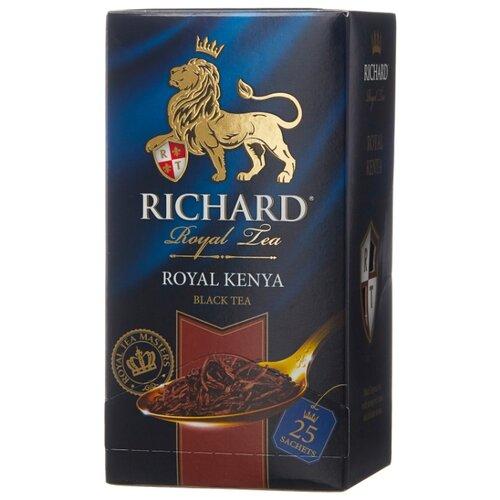 Чай черный Richard Royal Kenya в пакетиках, 25 шт. чай листовой richard royal ceylon dogs