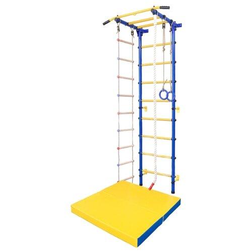 Купить Шведская стенка SportLim DS-12 синий, Игровые и спортивные комплексы и горки