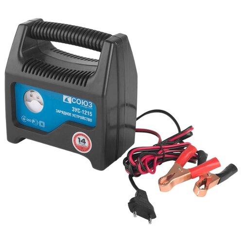 Зарядное устройство СОЮЗ ЗУС-1215 черный