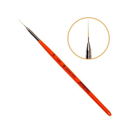 Кисть для дизайна Лайнер №3/0 синтетика planet nails красный