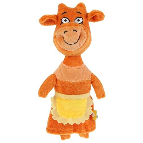 Мягкая игрушка Мульти-Пульти Оранжевая корова Мама Корова 27 см, без чипа