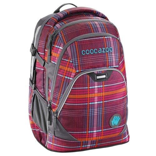 Купить Coocazoo Рюкзак EvverClevver2 Walk The Line Purple (00129872), бордовый, Рюкзаки, ранцы