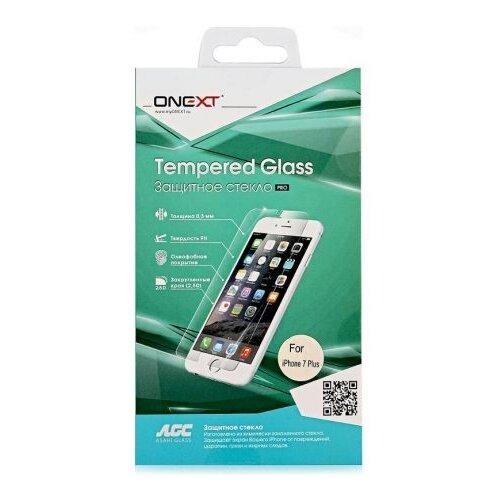 Защитное стекло ONEXT 2.5D для Apple iPhone 7 Plus прозрачный защитное стекло onext для iphone 7