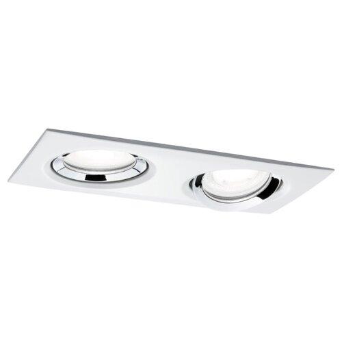 Встраиваемые светильники EBL Nova Plus IP65 eck 2x6 51mm Ws chr 93676
