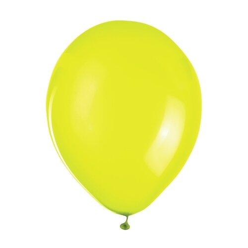 Набор воздушных шаров ZIPPY Неон 25 см (50 шт.) жёлтый