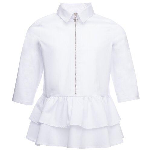 Блузка playToday размер 158, белый