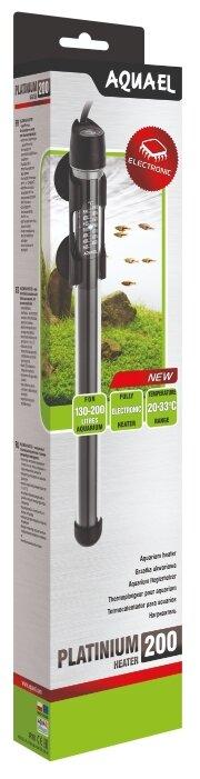 Цилиндрический нагреватель AQUAEL AQN PLATINIUM HEATER 200W (130-200 л)