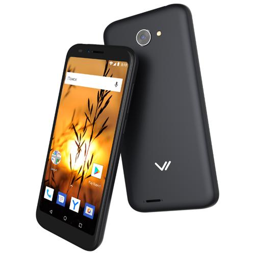 Смартфон VERTEX Impress Sunset NFC черный смартфон vertex impress click nfc 3g 1 8gb gold