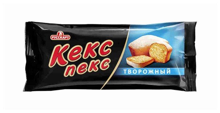 Кекс Кекс-пекс Творожный 34 г
