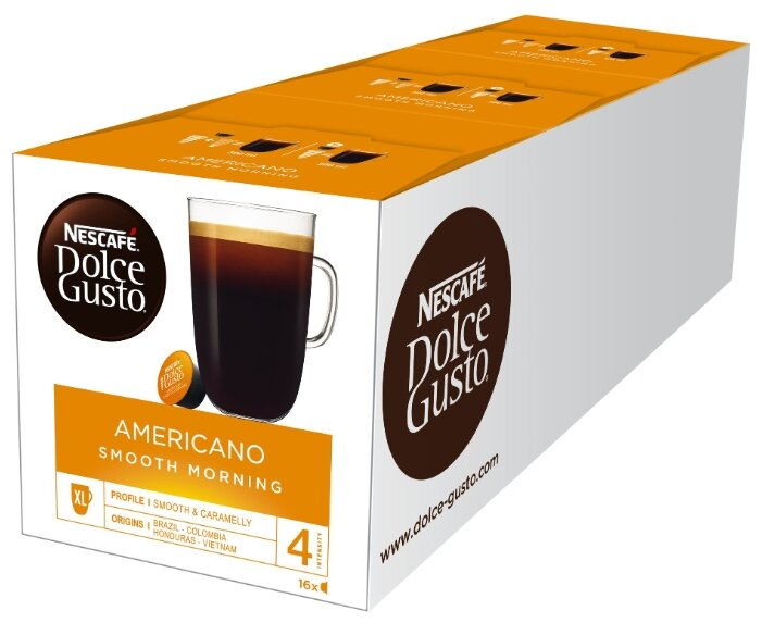 Nescafe Dolce Gusto Americano Smooth Morning (48 капс.)