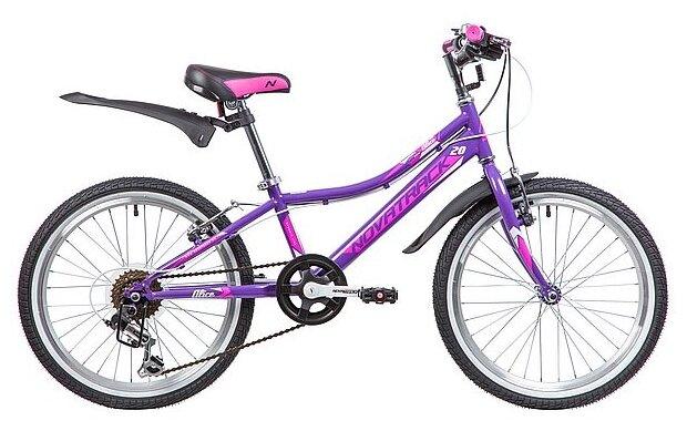 Подростковый горный (MTB) велосипед Novatrack Alice 20 (2019)