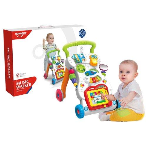 Купить Развивающий центр Haunger Ходунки-каталка Любознайка, Huanger, Развивающие игрушки