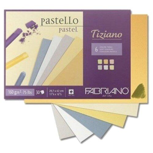 Альбом для пастели Fabriano Tiziano 42 х 29.7 см (A3), 160 г/м², 30 л.